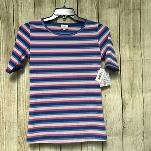 NWT LuLaRoe Small Striped Gigi